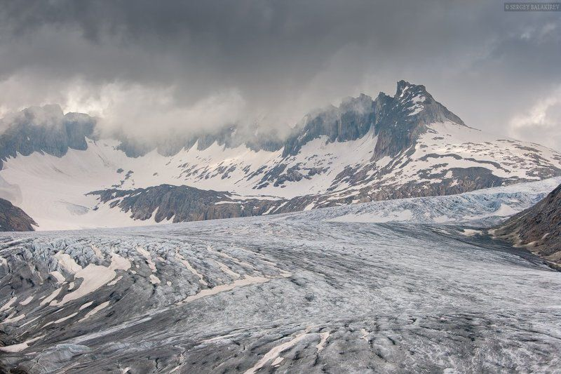rhonagletscher, ледник, швейцария ***photo preview