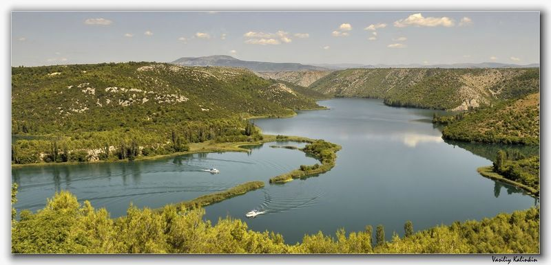 Ущелье реки Кирка. (Хорватия)photo preview