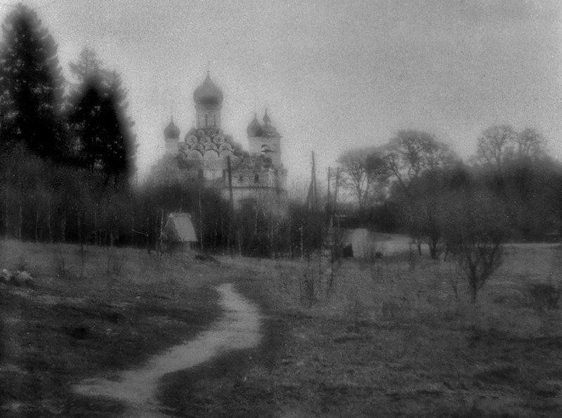 плёнка, храм, пейзаж, жанр Из ушедшего... (ностальгия по пленке).photo preview