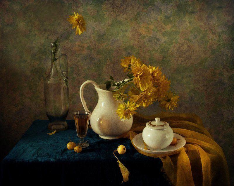 лето, жара, цветы, желтые шары, натюрморты Желтые шары, жараphoto preview