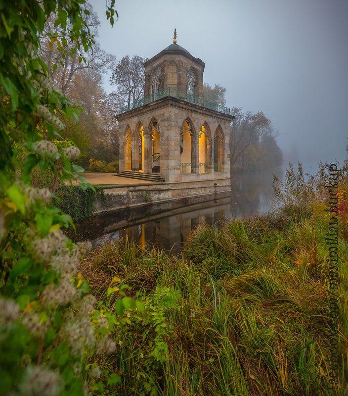 Germany, Осень, Отражение, Потсдам, Туман Осень в Потсдаме...photo preview