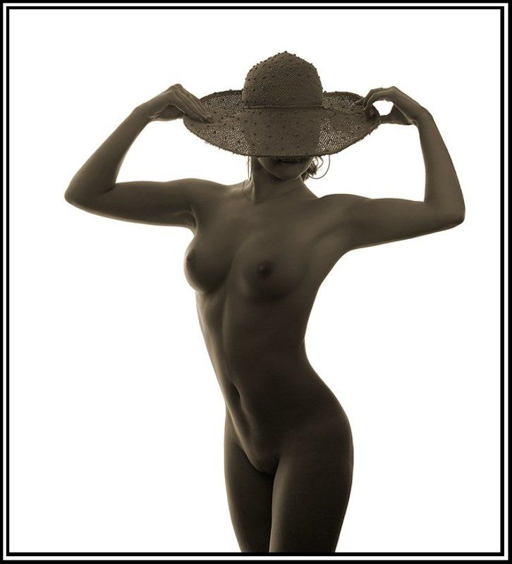 дама в шляпке...photo preview