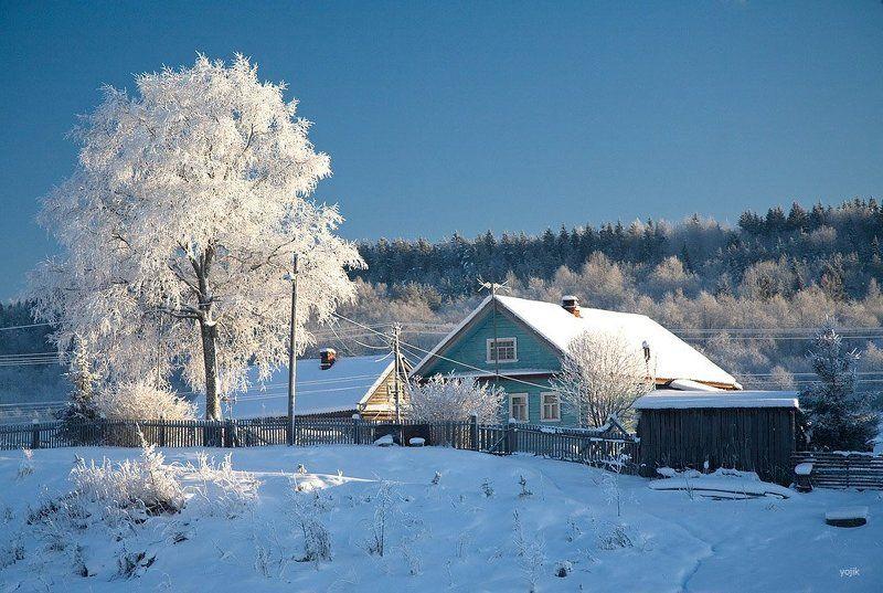 зимняя, сказка Настоящая зима!photo preview