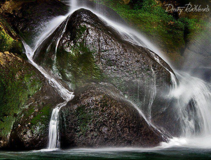 водопад, мексика Небольшой водопад. Мексикаphoto preview