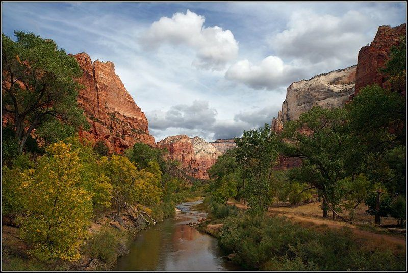 Осенний пейзажphoto preview
