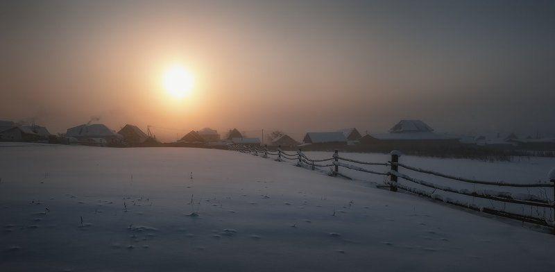 Морозное утро...photo preview