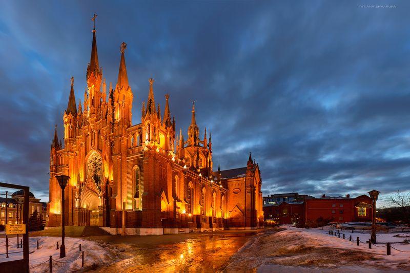 Католический собор, Москва, Панорамы, Храмы москвы Римско-католический кафедральный соборphoto preview