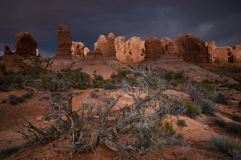 storm, utah, usa, rocks Light and Shadowphoto preview