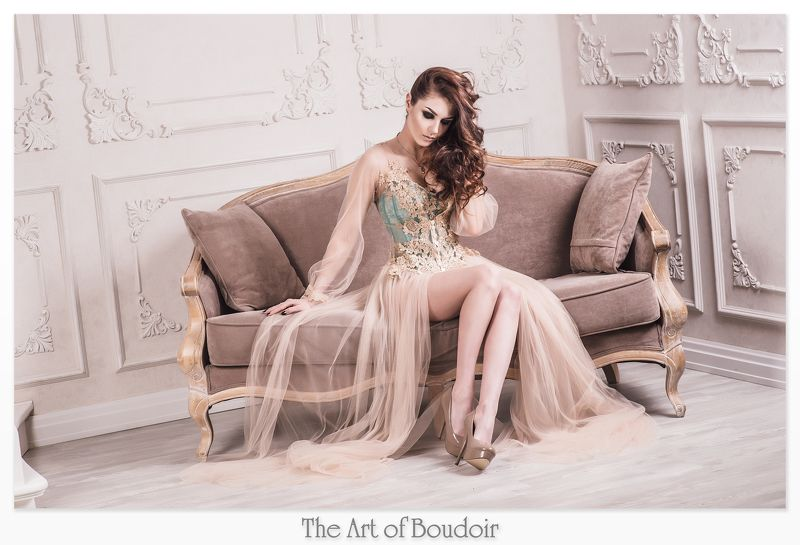 Boudoir, Белье, Будуар, Девушка, Корсет, Пенюар, Фотопроект art of boudoirphoto preview