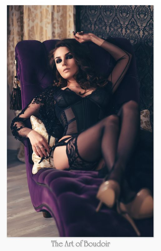 будуар Dark boudoirphoto preview