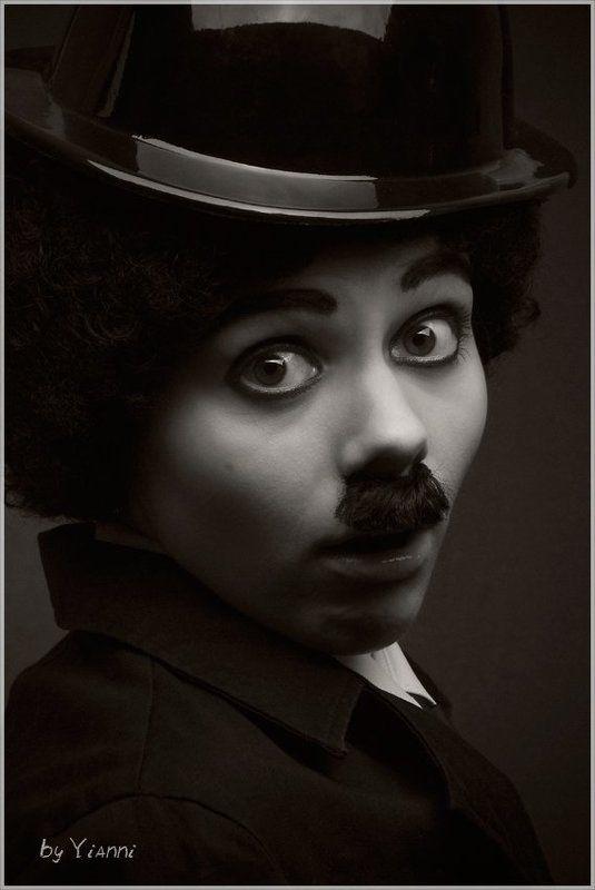 чарли, чаплин, комик, киноактёр, немое кино, котелок Чарли...photo preview