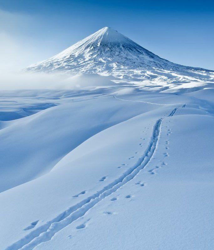 камчатка, вулкан, ключевской, извержение К Ключевскому вулкануphoto preview