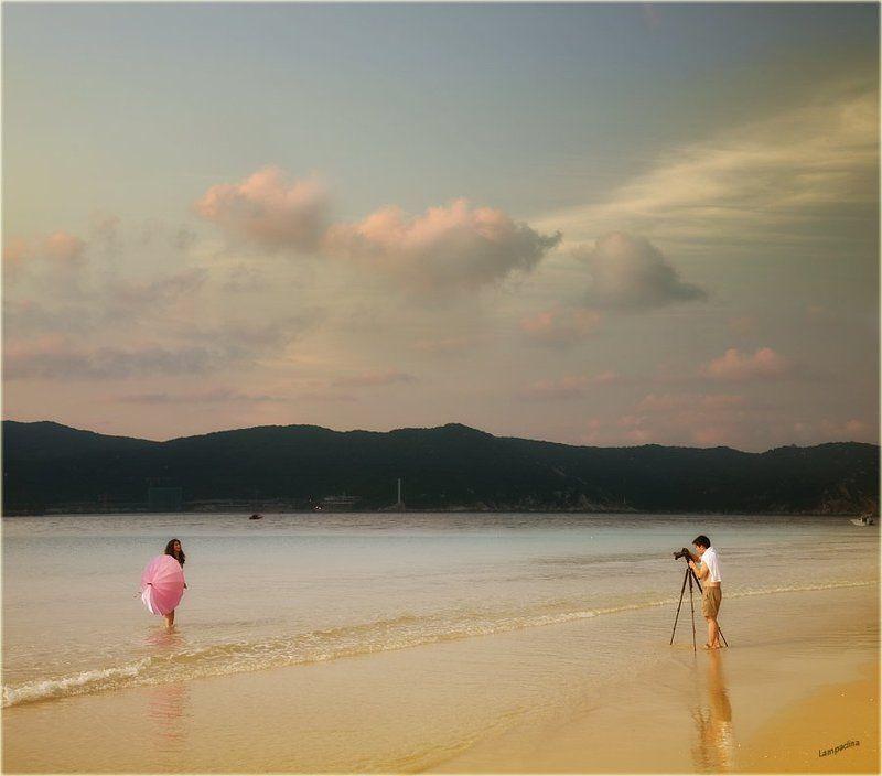 китай, о. хайнань, пляж, море, фотограф, модель Китайские зарисовки. Ты сними, сними меня, фотограф.)photo preview