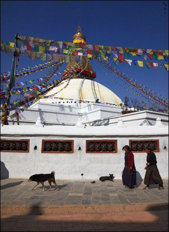 непал, гималаи, nepal, himalaya, катманду, kathmandu Все по часовой...photo preview