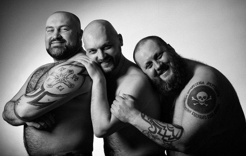 друзья, настоящие,музчины,татуировки бутерброды бывают разные...photo preview