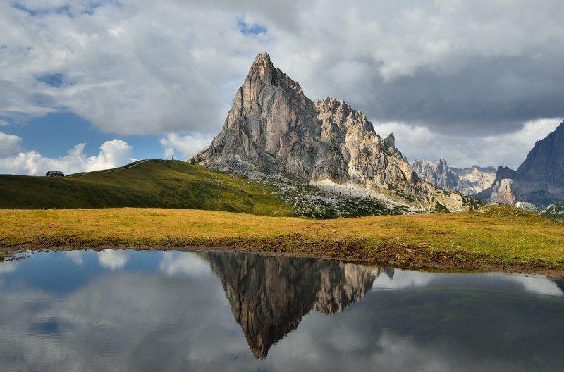 italy, dolomites, passo giau, италия, доломитовые альпы Passo Giauphoto preview