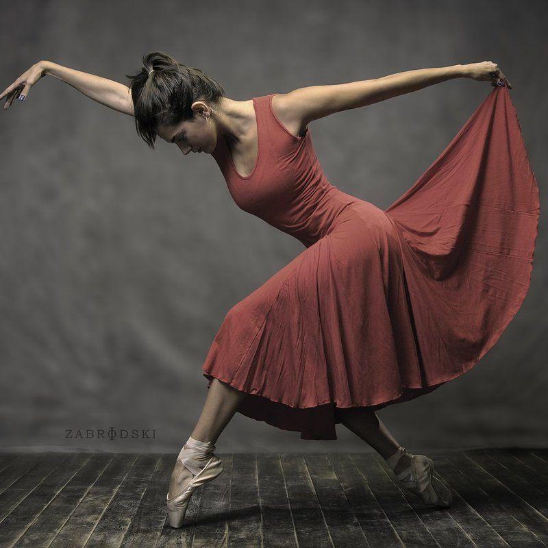 dance, dancer, ballet, bailarina, danza, zabrodski, ivan zabrodski, body, red, point, itahiza mendez, Itah Mendezphoto preview