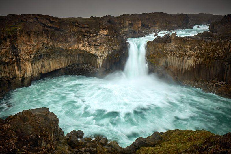 Aldeyjarfoss, waterfall, Iceland Powerphoto preview