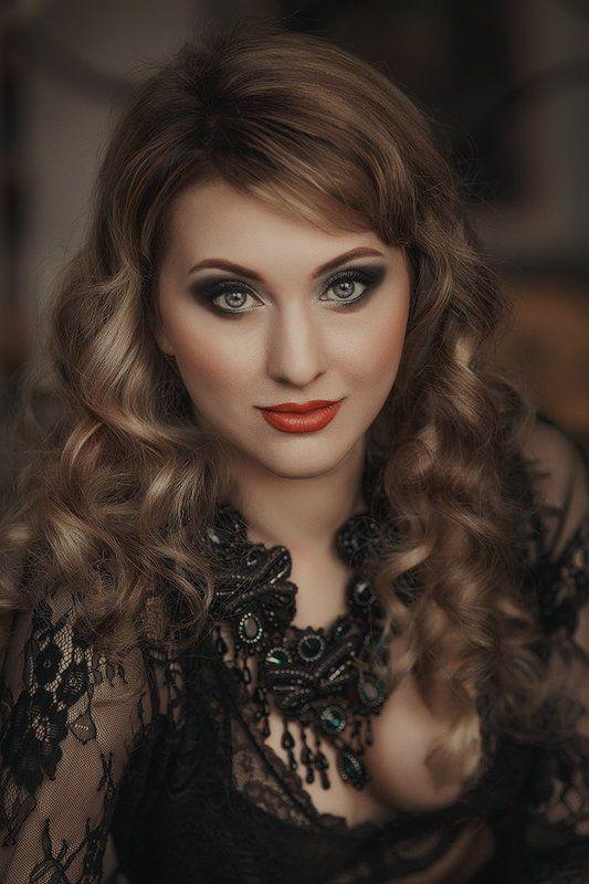 Beauty, Girl, Glamour, Make-up, Глаза, Девушка Ожерельеphoto preview