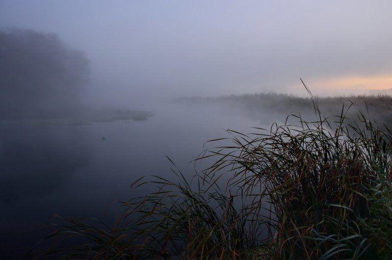 Спит в тумане рекаphoto preview
