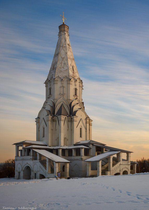 коломенское, Москва, храмы москвы  Церковь Вознесения Господня в Коломенском photo preview