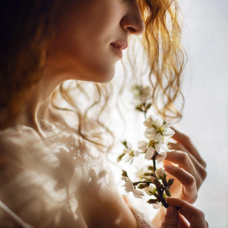 весна девушка ***photo preview