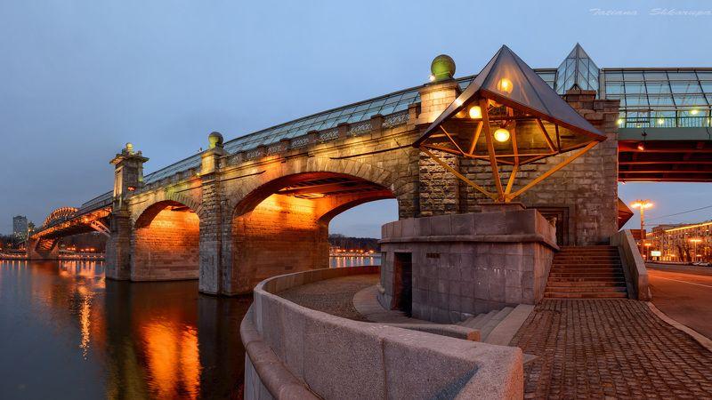 москва, пушкинский мост, мосты москвы,  Пушкинский мостphoto preview