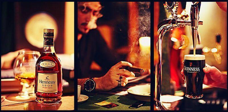 ресторан, виски, пиво, сигара ресторанphoto preview