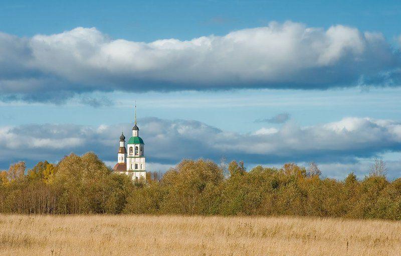 vvs, монастырь, пейзаж, осень photo preview