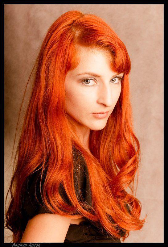 рыжик, девушка, портрет Рыжикphoto preview