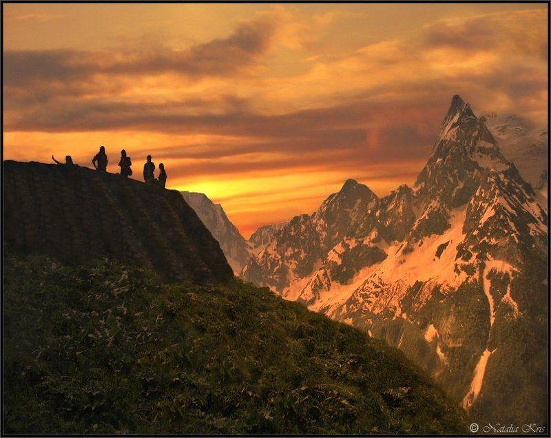 Провожая закат...photo preview
