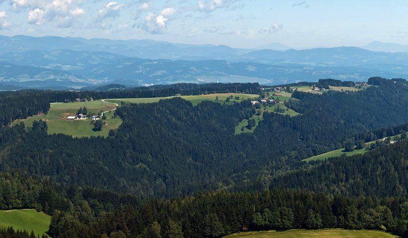 австрия, альпы, деревня ***photo preview