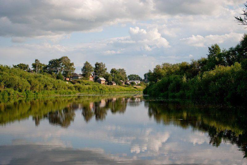 река, вода, пейзаж, поворот Вот новый поворотphoto preview