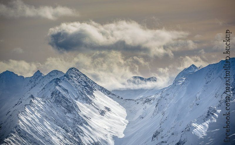 горы, альпы, австрия, тироль, снег, зима, солнце, небо, панорама, вершины Zillertal Arena 2016photo preview