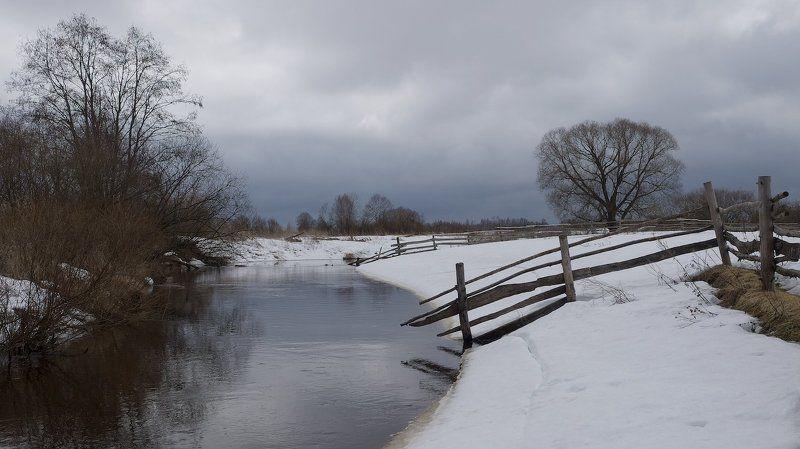 река, лахость Сельская апрельская.photo preview