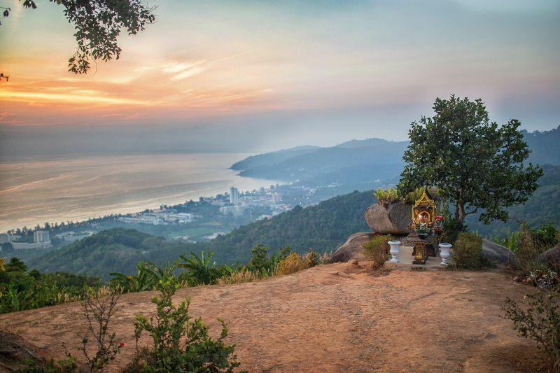 Таиланд, Пхукет, Закат Somwhere photo preview