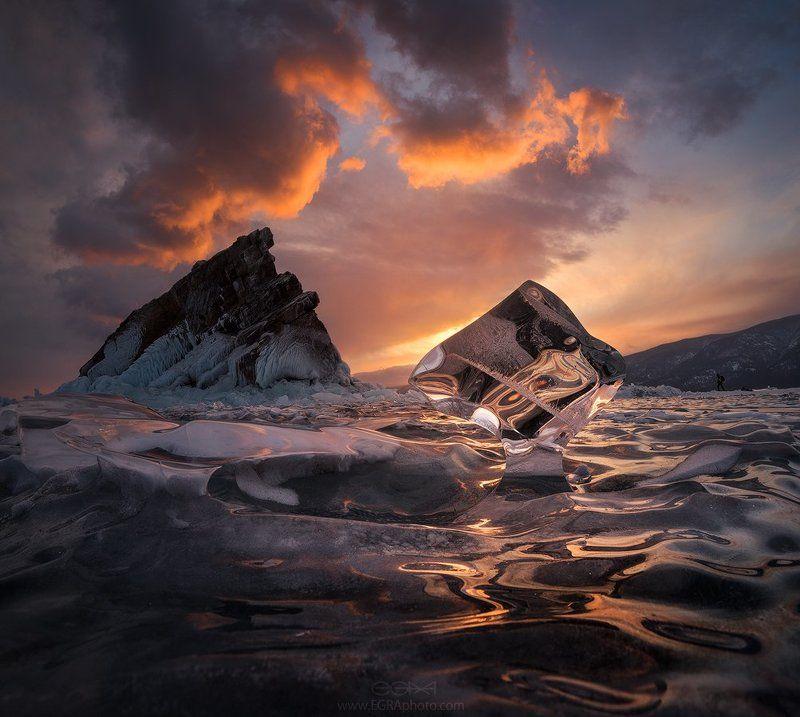 baikal, island, siberia, байкал, остров, сибирь, лед, ice Хрустальный Байкалphoto preview