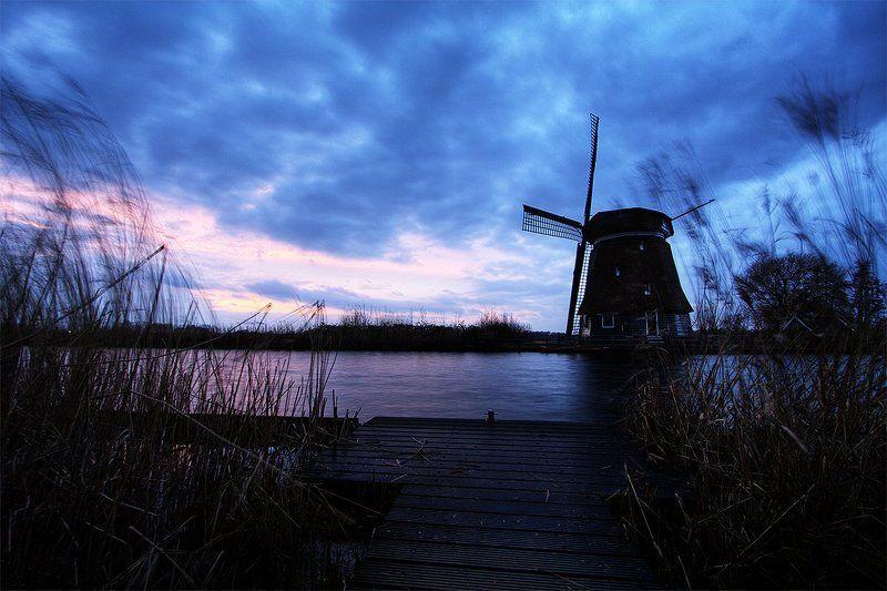 Амстердам, Голландия, Мельницы, Нидерланды Где-то в Голландииphoto preview