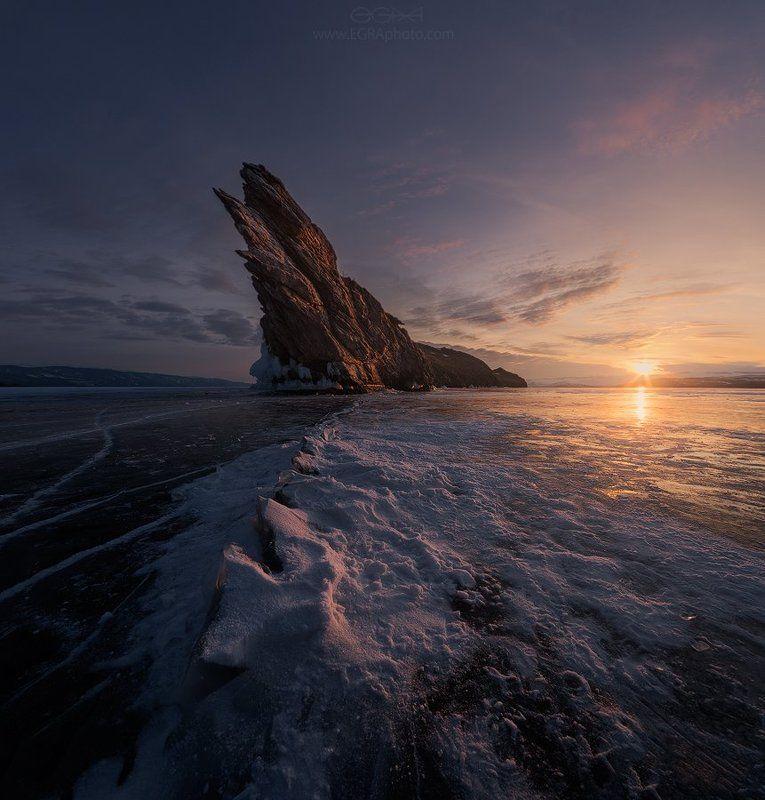 baikal, island, siberia, байкал, остров, сибирь, лед, ice, огой, ogoy Рифphoto preview