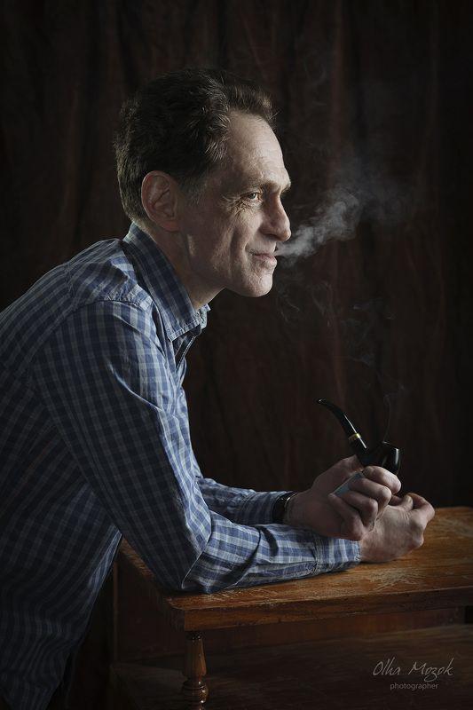 Мужской портрет, Мужчина, Портрет, Студия Женяphoto preview