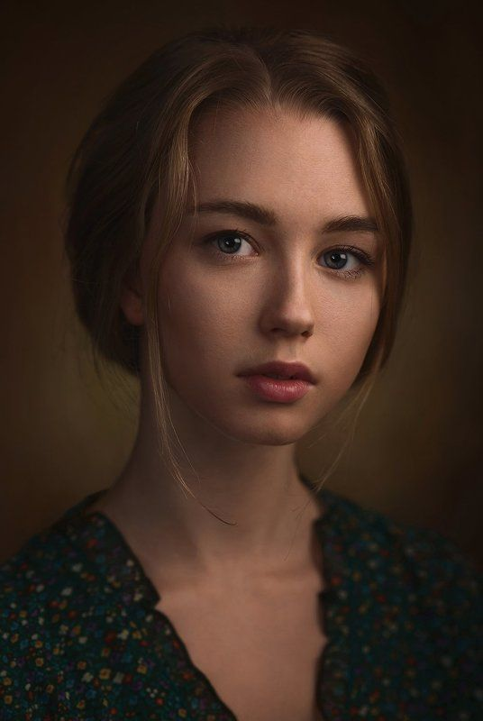 Взгляд, Волосы, Девушка, Портрет, Студия Асяphoto preview