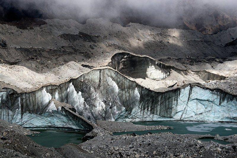 Гималаи, Ледник, Непал ледник Нгозумпаphoto preview