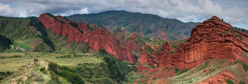Горы Киргизия Джеты-Огузphoto preview