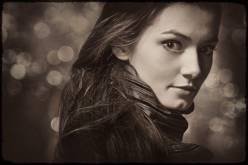 портрет, студия, девушка Иринаphoto preview