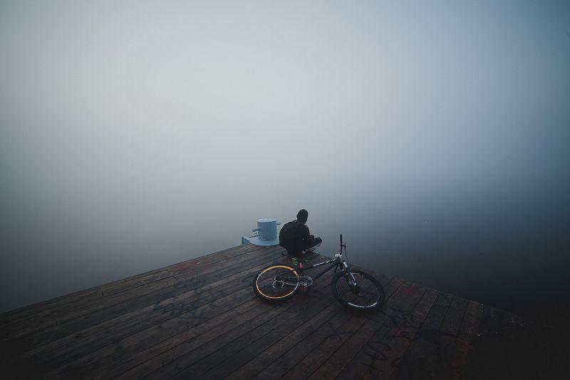 Волга, Река, Туман, Тутаев, Утро Утроphoto preview
