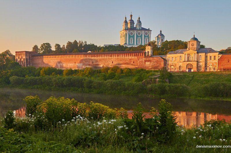Смоленск Утро в городе на Днепреphoto preview