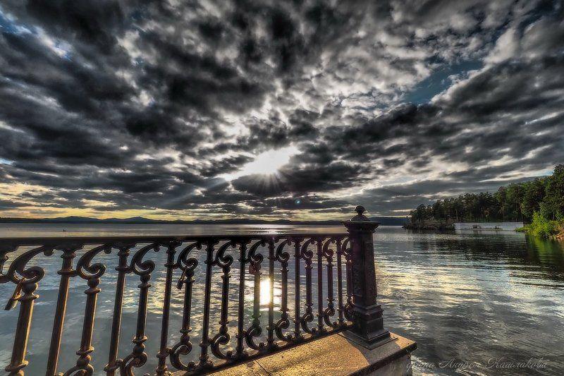 Закат в стиле ПЛЮМБУМphoto preview