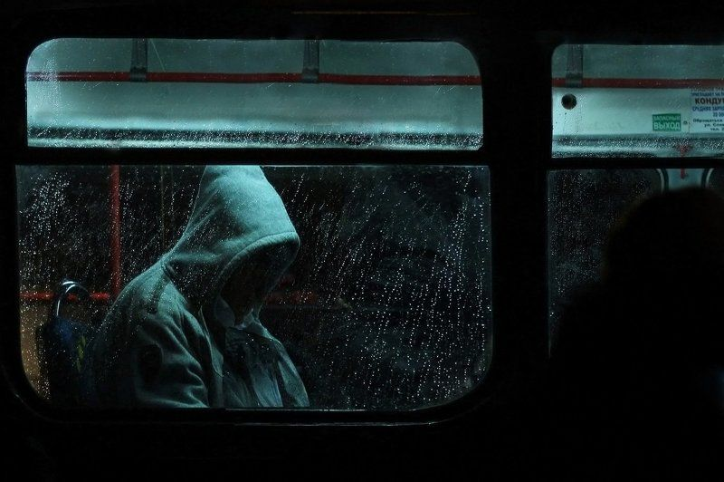 ночь, транспорт, люди, пустота Междумирьеphoto preview
