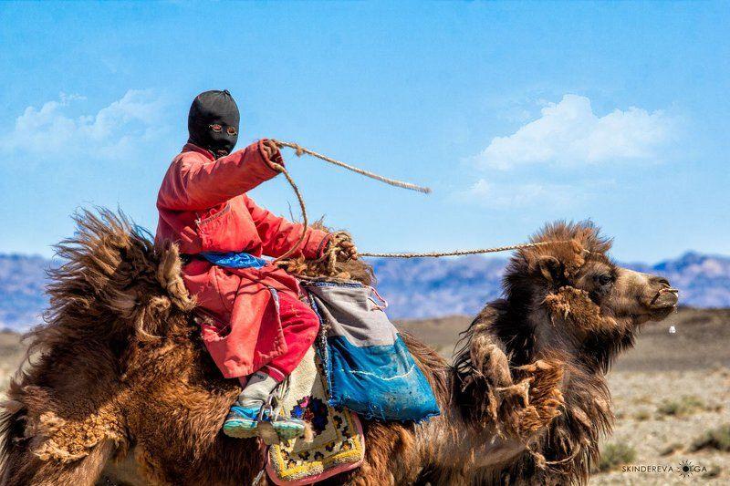 Монголия Мальчик-пастухphoto preview
