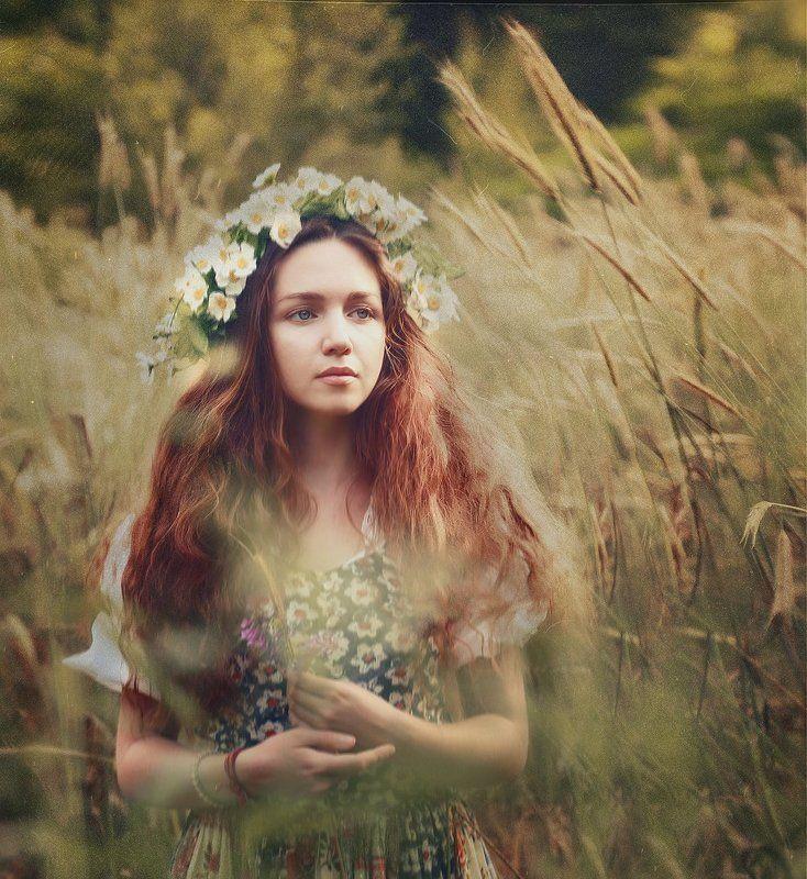 beautiful, photographer oksana bokatova, portrait, portret, портрет девушки, природа _____photo preview